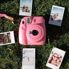 Instax Camera, Polaroid Camera, Fujifilm Instax Mini, Instant Print Camera, Polaroids, Diy Flowers, Vsco, Gadgets, Bedroom