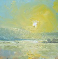 "Daily+Paintworks+-+""Good+Day+Sunshine""+-+Original+Fine+Art+for+Sale+-+©+Kelli+Folsom"