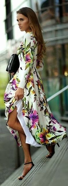 Not into flowers on dresses but this works.