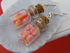 Gummy Candies Jar Earrings