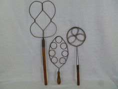 Vintage Rug Beaters Collection Of Three by FairchildsInc on Etsy, $70.00