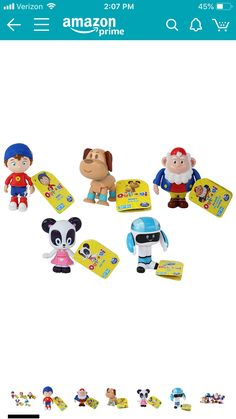 44b83ed4fd1 Noddy DreamWorks Toyland Detective 5 Piece Figure Set