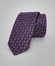 Red and Grey Necktie, Red and Grey Men's Tie, Red and Grey Cravat, Red and Grey Tie - DK252 #handmadeatamazon #nazodesign