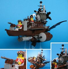 Brass Meets Bricks: 20 Steampunk LEGO Art Creations