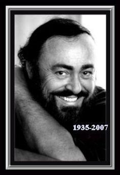 Luciano Pavarotti (12/10/1935 - 6/9/2007) Age: 71