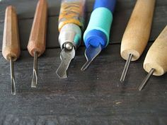 comparison of carving tools by Celie Fago