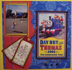 A Day Out With Thomas(2) - Scrapbook.com