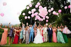Olha os balões!!! Foto muito legal feita no jardim de Santa Teresa!!