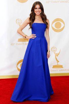 Allison Williams in Ralph Lauren at the 2013 Primetime Emmys