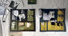 Tasca: pannello tessile per organizzare gli oggetti   gruppotomasella.it