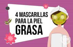 Cómo acabar con la piel grasa con estas 4 mascarillas caseras - El Cómo de las Cosas Face Care, Anti Aging, Health Fitness, Wellness, Life, Lip Care, Feet Care, Homemade Face Pack, Lip Scrubs