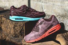 Nike Air Max Lunar 1 & 90 Mahogany Pack