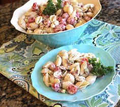 Creamy Ranch, Bacon and Tomato Pasta Salad from @jamiecooksitup