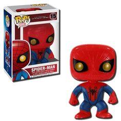 Funko POP Marvel: Amazing Spiderman Movie Bobble Head http://popvinyl.net #funko #funkopop #popvinyls