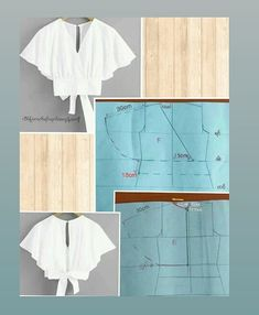 Simple Blouse Pattern, Blouse Patterns, Doll Sewing Patterns, Clothing Patterns, Pattern Draping, Sewing Blouses, Casual Dresses For Teens, Stylish Blouse Design, Diy Dress