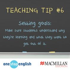 Do your students know why they're learning English?