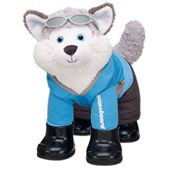 Happy Husky makes a great gift, he's so cute in his outfit! My daughter is gonna freak when she sees this! She's a build-a-bear collector with 28 furry friends!