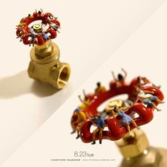 Calendrier Miniature par Tatsuya Tanaka