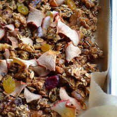Maple Apple Crunchy Superfood Granola | taste love and nourish