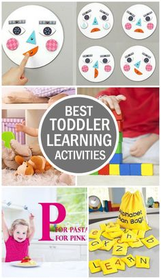 Love the emotion plate! With an attention span that is so short, how do we teach toddlers anything at all? Fret not, here we have compiled a list of toddler learning activities that are so much fun, your toddler will be more than up for them. Learning Tips, Toddler Learning Activities, Infant Activities, Early Learning, Preschool Activities, Kids Learning, Toddler Play, Toddler Preschool, Toddler Development