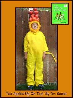 Dr. Seuss Characters - Homemade costumes for families
