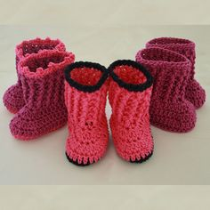 Bootbooties ~ free pattern ᛡ