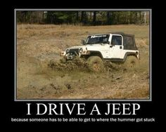 Black Dog Mods is here to help you customize your Jeep Wrangler with the best parts, accessories, and modifications for customizing your Wrangler. We are a collection of Jeep lovers who live and breathe on the modification side of Wranglers. Jeep Meme, Jeep Jokes, Jeep Humor, Car Humor, Jeep Funny, Car Memes, Jeep Cj7, Jeep Cherokee Xj, Jeep Parts