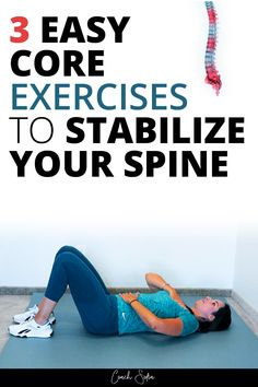 Stability Exercises, Back Pain Exercises, Core Exercises, Health And Fitness Articles, Health Tips, Health Fitness, Healthy Life, Healthy Living, Muscle Stretches