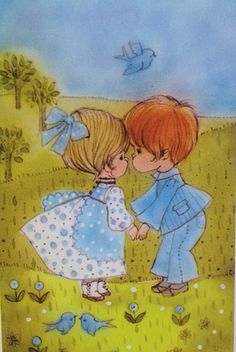 Vintage Hallmark Book I WISH YOU BLUEBIRDS 1970 HB book by ...