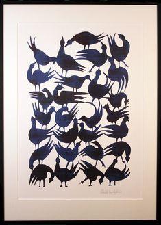 A2 Print af Morten Christoffersen - Retrovilla