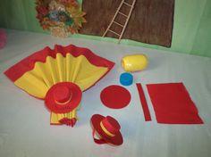 Image - Décoration de table sur un théme de l' Espagne . - les p'tites mains bricoleuses - Skyrock.com
