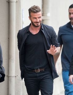 David Beckham looks remarkable as he admits he's looking forward to turning 40