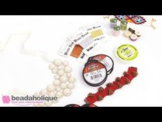 Overview of Beading Threads - Instructional Videos - Beading Resources Beav, Loom Bracelets, Beading Tutorials, Bead Weaving, Beaded Embroidery, Videos, Inspiration, Jewelry, Biblical Inspiration