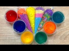 In this satisfying video I am adding too much ingredients to slime, relaxing sounds, crunchy slime. Sliming World, How To Make Slime, Satisfying Video, Diy Slime, Diy Wedding, Asmr, Make It Yourself, Slime Videos, Youtube