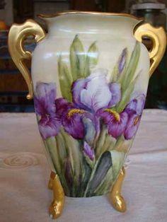 Limoges, France Vase marked, Martial Redon ca.1891-1906