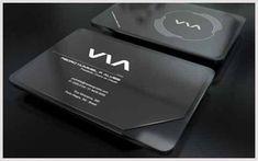 40+ Diseños de tarjetas de presentación en Negro | CelulaWeb