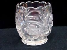 Antique 1800s EAPG Glass Toothpick Holder,Pattern-Maker Unknown #79 Free US Ship
