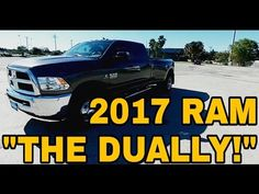 News Videos & more -  Car and Truck videos - 2017 RAM 3500 Cummins Dually!  What a truck!  Full Review #Cars &  #Trucks #Music #Videos #News