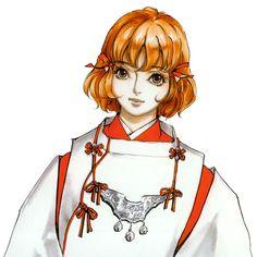 Mina Hakuba Face - Castlevania: Aria of Sorrow