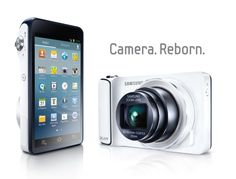 Samsung announces Galaxy Camera with Android Jelly Bean, massive display, zoom, WiFi and connectivity (hands-on) -- Engadget Tablet Android, Android Camera, Android 4, Samsung Camera, 35mm Camera, Camera Phone, Digital Foto, Digital Camera, Galaxy Note