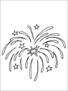 Fourth of july coloring pages free coloring pages for kids of admirable fourth coloring pages for . fourth of july coloring pages New Year Coloring Pages, Online Coloring Pages, Coloring For Kids, Printable Coloring Pages, Coloring Pages For Kids, Coloring Sheets, Coloring Books, Fireworks Craft, Patterns