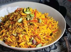 Sweet Rice with Carrots and Nuts , a recipe on Food52