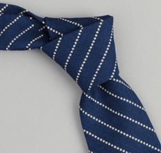 303 - Selvedge Indigo Wabash Dot-Stripe Necktie – The Hill-Side