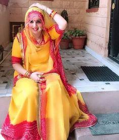 Rajasthani Dress, Rajputi Jewellery, Rajputi Dress, Indian Bridal, Traditional Dresses, Indian Beauty, Cute Girls, Girls Dresses, Sari
