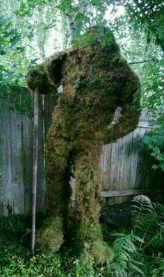 Bigfoot Toys, Bigfoot Sasquatch, Bigfoot Pictures, Finding Bigfoot, Bigfoot Sightings, Garden Whimsy, Cryptozoology, Outdoor Landscaping, Landscape Lighting
