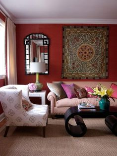 The Red Room On Pinterest Red Walls Red Bedrooms And Red Rooms