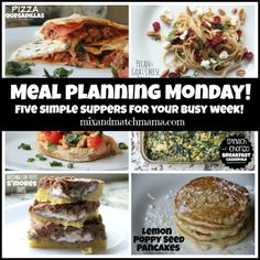 Meal Planning Monday #176