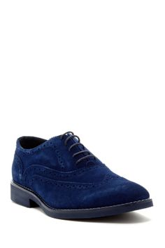 Because, no, I don't own a pair of blue suede shoes (yet)