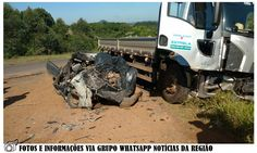 BLOG DE NOTÍCIAS DE MANOEL RIBAS E REGIÃO: Colisão entre caminhão e Saveiro provoca a morte d...