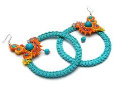 Arcadia 2 earrings by SoutageAnka on Etsy, zł150.00